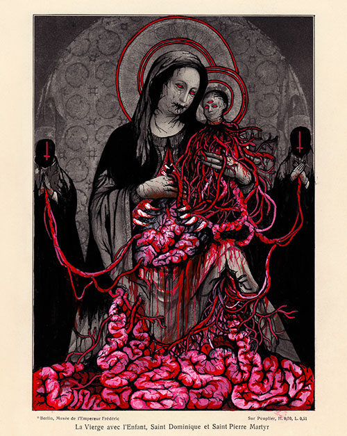 La Vierge avec l'Enfant, Saint Dominique et Saint Pierre Martyr