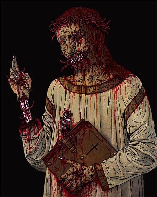 Christ bénissant