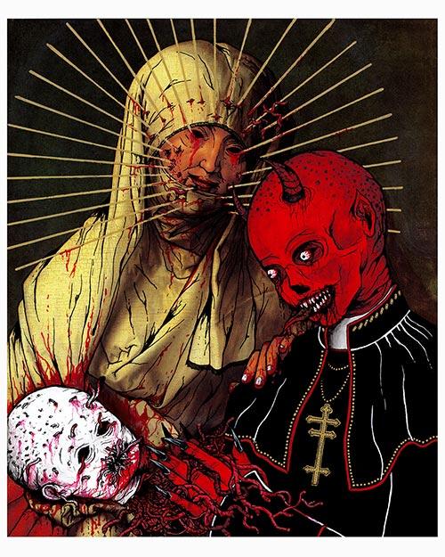 La Vierge avec l'Enfant et sainte Anne