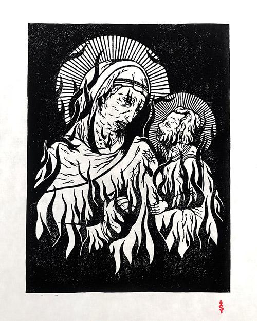 Vierge </br>et Enfant II